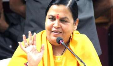 uma bharti to spend 3 4 days a week on banks of...