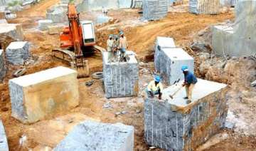 illegal quarrying destroyed over 60 water...