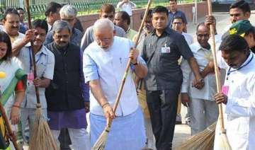 swachh bharat 75 major cities to be rated for...