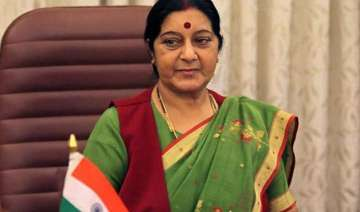 sushma swaraj calls on bhutan pm discusses...