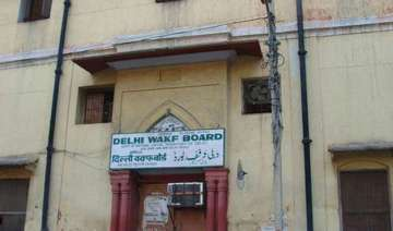 aap government supersedes delhi waqf board strips...