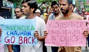 ftii impasse continues as students strike enters...