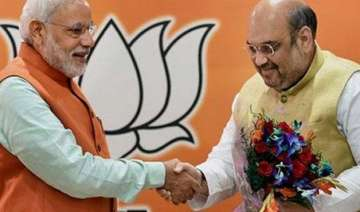 pm modi amit shah to address separate meets in...