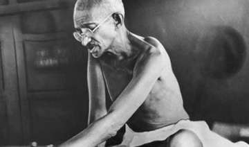 first documentary on gandhi to be screened...