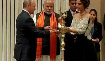 modi and putin inaugurate world diamond...