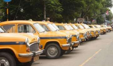 commuters left stranded as kolkata taxis go on...
