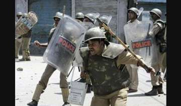 kashmir valley by and large peaceful curfew...