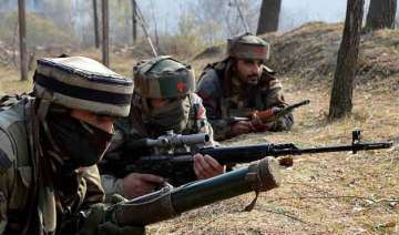 militants fire rifle grenades towards security...