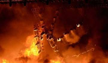 make in india fire brought under control cm...