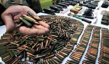 suspected maoist held with arms and explosives -...