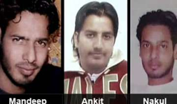 delhi triple killings suspects nabbed in...