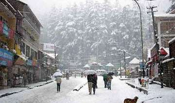 manali gets more snowfall - India TV