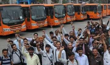 dtc strike disrupts bus services in city...
