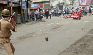 near complete bandh observed in jammu over beef...