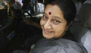 swaraj embarks on visit to indonesia - India TV