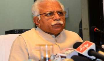manohar lal khattar demands separate high court...