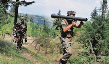 pakistan targets 30 bsf outposts in overnight...