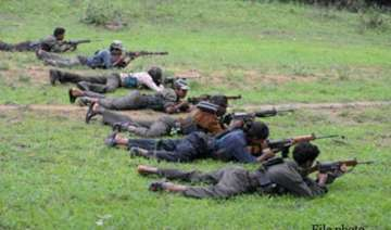 maoists attack forest offices in two places in...
