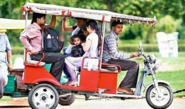 study recommends treating e rickshaw as motor...