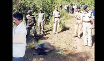 crpf personnel shot dead maoists possibly killed...