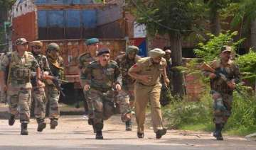 independence day security forces on alert in...