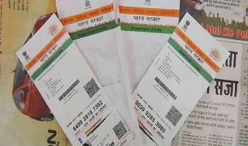 proposal to link aadhar with voter identity card...