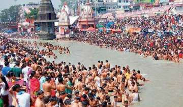 govt officials local authorities discuss ganga...