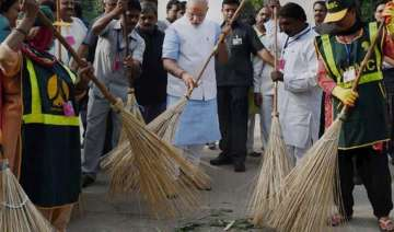 open defecation free country became national...