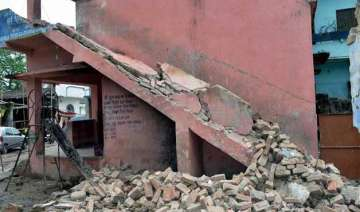 eight aftershocks felt in bihar in past 24 hours...