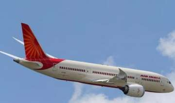 air india plane suffers tyre burst while landing...