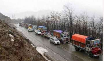 jammu srinagar national highway reopens for one...