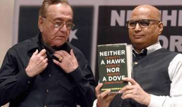 despite shiv sena threat kasuri s book launched...