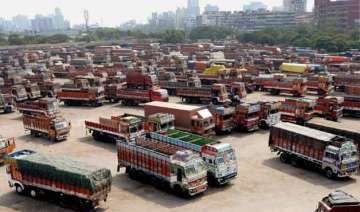 transporters keep off roads for 2nd day goods...