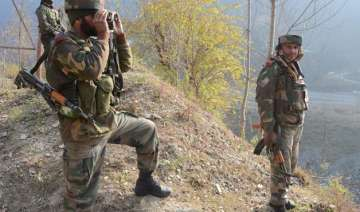 explosion inside army training camp in kashmir 14...
