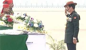 mortal remains of 9 siachen martyrs to reach...