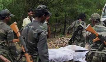 chhattisgarh stf squad was attacked from three...