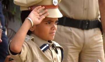 10 year old boy becomes jaipur police...