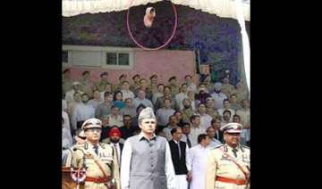 politician stage managed shoe throwing on omar -...
