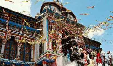 doors of badrinath shrine thrown open for...