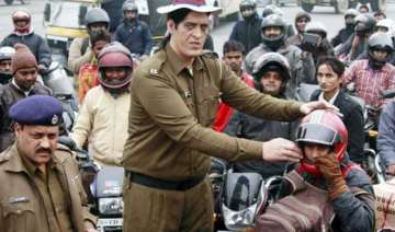 haryana traffic constable 7 ft 4 inch tall...