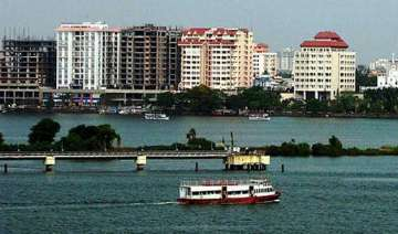 global warming could sink large parts of kochi...
