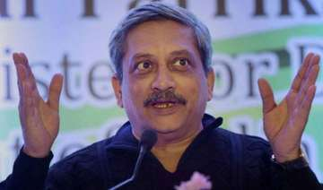 search warrant against parrikar s residence...