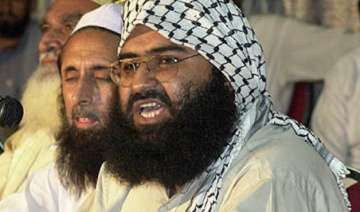 masood azhar in custody says pak puts talk ball...