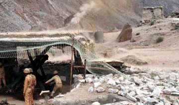 pakistan shells border out posts along ib in...