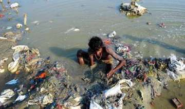 over rs.6 lakh crore needed to clean ganga...