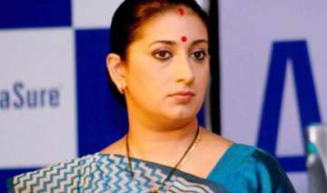 smriti irani to head bjp mahila morcha - India TV