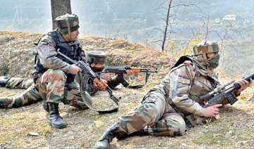 2 militants killed in an army encounter in j k s...