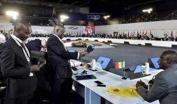 india africa summit feels tremors but meeting...