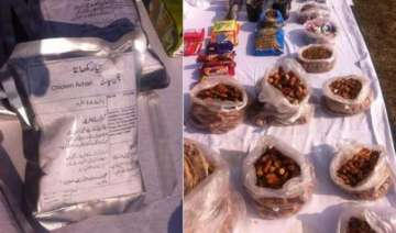 attack on army camp food packets with pak...