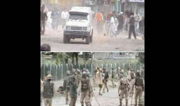 curfew like situation in srinagar as protests...